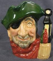 """The Smuggler D6619 Royal Doulton Character Toby Jug Small 4"""" 10cm  image 1"""