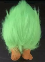 "FUZZBERT Green Hair Trolls Plush Doll DreamWorks Animation 2016 14"" Large AA124 - $8.79"