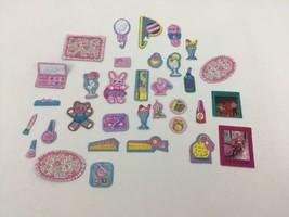 Vintage 80s 90s Barbie Skipper Cardboard Cutout Accessories Lot (33) Roc... - $19.75