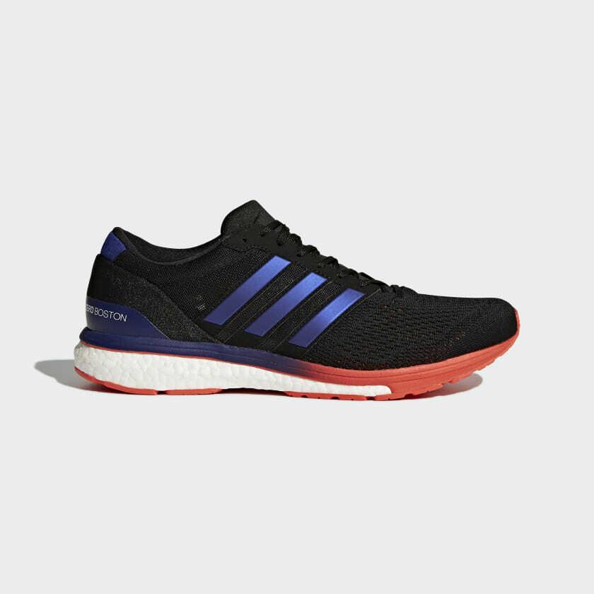 Adidas Adizero Boston 6 Herren Größe 8.5 BB6413 Marathon Neu Bequem Laufen