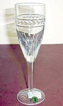 Waterford Laurel Champagne Flute Crystal Made in Ireland #117888 New - $68.90