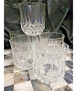 Cristal D'Arques Longchamp Set Of 6 Double Old Fashion Rocks Glasses - $29.65