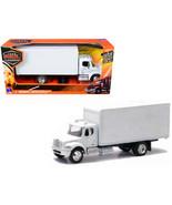 Freightliner Utility M2 Box Truck Van White 1/43 Diecast Model by New Ra... - $25.29