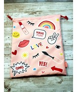 Ipsy Glam Bag Plus June 2021 Drawstring Bag - Bag Only No Cosmetics - New - $9.69