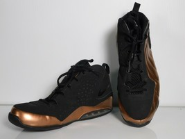 Nike Air Max Wavy Mens Basketball Shoes University Training Brown black Sz 10.5 image 2