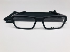 New Oakley OX8039-1351 Black Chamfer Eyeglasses 51/18/140 with Cloth Bag - $103.46