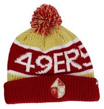 NEW FORTY SEVEN 47 WINTER NFL SAN FRANCISCO 49ERS STRIPED HAT BEANIE ONE SIZE