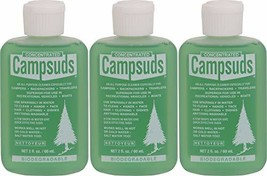 Sierra Dawn Campsuds Outdoor Soap Biodegradable Environmentally Safe All - $27.85