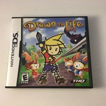 Nintendo DS Drawn To Life Game 2007 Complete With Case & Manual - $9.85