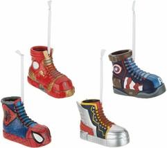 Hallmark Set of 4 Superhero Sneaker Ornaments - $44.54