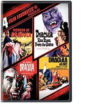 4 Film Favorites: Draculas  DVD - $6.95