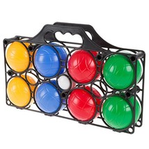 Hey! Play! Beginner Bocce Ball Set with 8 Colorful Bocce Balls, Pallino ... - $17.41