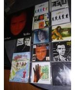 16 lot Genesis band Vinyl CD DVD Phil Collins Peter Gabriel Steve Hacket... - $60.50