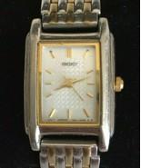 Seiko Women's Watch Two Tone Stainless Steel 1N01 Quartz White Dial - $22.27