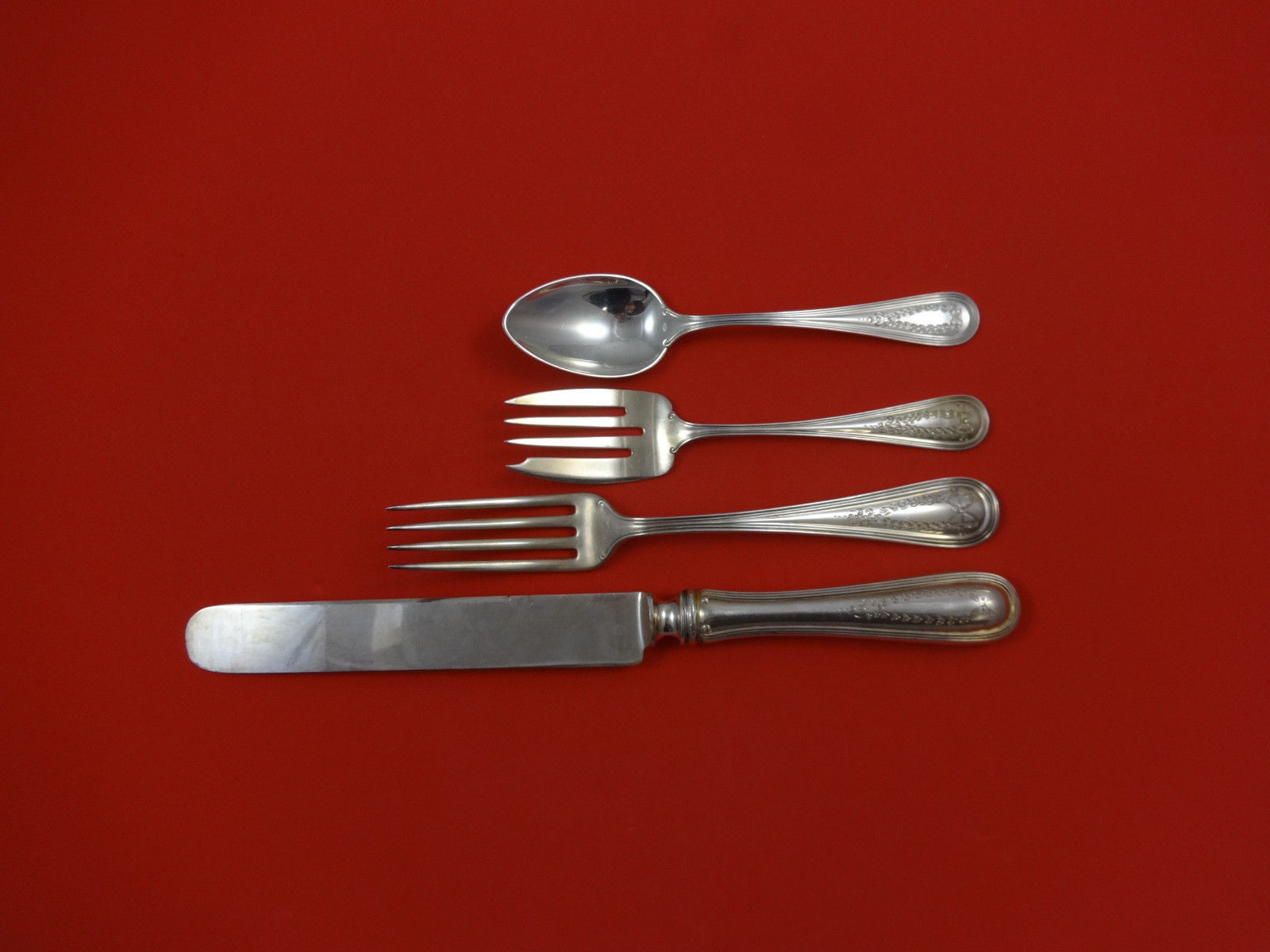 Primary image for Commonwealth Eng by Watson Sterling Silver Dinner Place Setting(s) 4pc