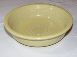 """Fiesta Homer Laughlin China Co Made in USA cereal bowl 6 7/8"""" light yell... - $16.08"""