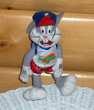 "Warner Bros Looney Tunes Space Jam Plush 9"" BUGS BUNNY - $7.77"
