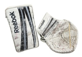 Reebok Hockey 14K SR Goalie Catch 590 + Blocker - Lefevre P4 Glove Set 2012 - $148.88