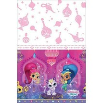 Shimmer and Shine Plastic Tablecover 1 Per Package Birthday Party Suppli... - $6.88