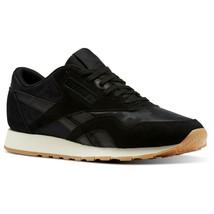 Reebok Men's Classic Nylon SG Trainers Running Shoes - BS9569 - Black / ... - $77.75