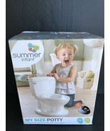 Summer Infant My Size Potty W/ Real Flush Sounds Ages 18mos+ & Up To 50l... - $24.99