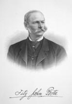 FITZ-JOHN PORTER General & NY Commissioner - SUPERB Portrait 1877 Antiqu... - $13.86