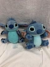 Disney Stitch Plush Doll Lilo & Stitch Toy lot of 2 - $19.79