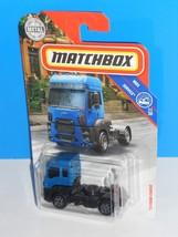 Matchbox 2018 MBX Service #37 '13 Ford Cargo Blue Semi Truck - $3.00