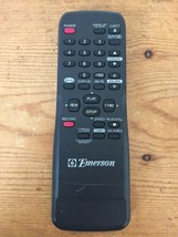 Vintage Genuine Emerson TV VCR Video Player Combo Remote Control N9278UD Black - $10.39