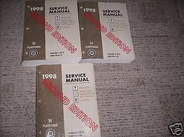 1998 PONTIAC BONNEVILLE BUICK LESABRE Olds 88 Service Shop Repair Manual... - $79.13
