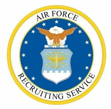 US Air Force Recruiting Service Sticker - $9.89