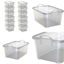Life Story Clear Stackable Closet Amp; Storage Box 55 Quart Containers, ... - $133.76