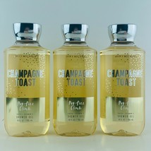 3 Pack Bath & Body Works Champagne Toast Shower Gel Wash 10 fl.oz New - $24.70