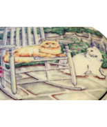 Studio Nova Lazy Cat Covered Box, Porcelain Trinket or Jewelry Dish - $18.50