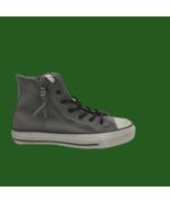 CONVERSE Chuck Taylor Double Zipper Hi Men's Phaeton Gray Sneakers Size 4 - $61.74