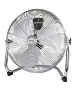 Impress 18 inch High Velocity Metal Fan- Chrome - $83.22