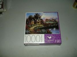 Towbridge Manor - Cardinal Puzzles 1000 Pieces Brand New, Sealed - $9.89