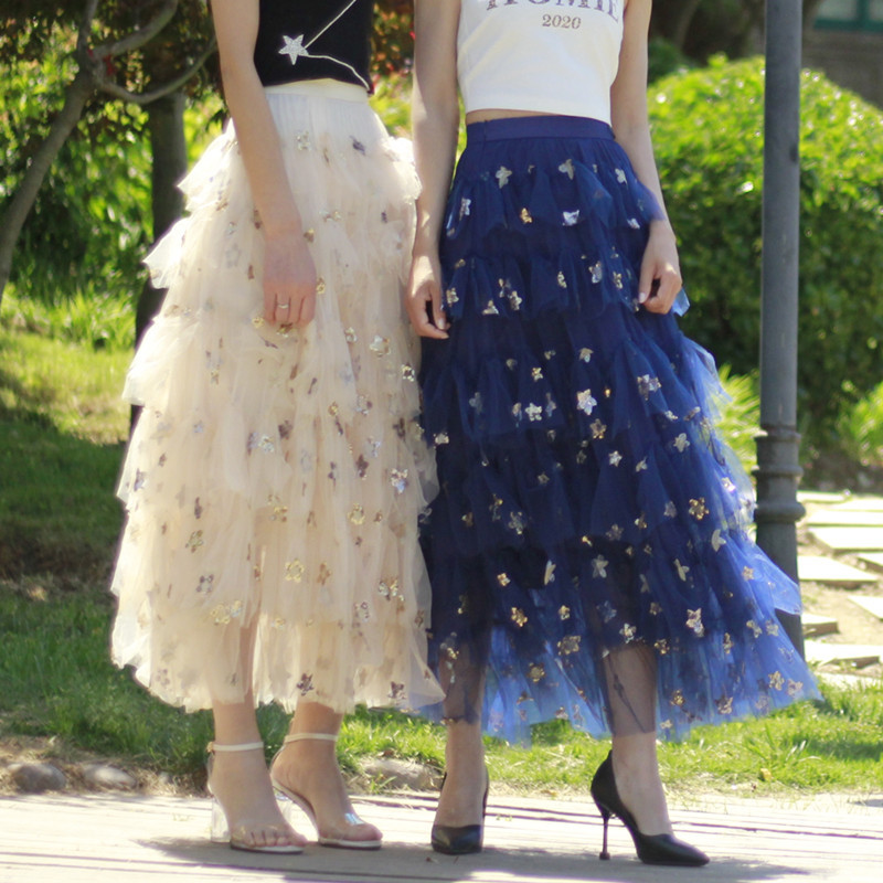 Tulle skirt star party  4
