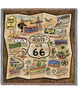 Route 66 Small Blanket - $49.95