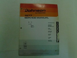 1977 johnson engines manual service 6hp model 6r77 6rl77 factory oem boat - $19.77