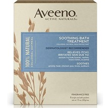Aveeno Soothing Bath Treatment For Itchy, Irritated Skin, 8 Count