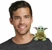 NWT The Child Baby Yoda Magnetic Shoulder Plush Star Wars The Mandaloria... - $29.69