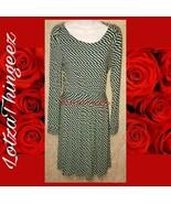Vineyard Vines S Aqua & Navy Short Dress - $34.64
