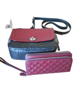 NWT Coach Park Quilted Colorblock Crossbody24982+Park Quilted Double Wal... - $226.02