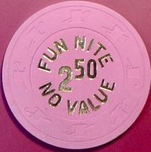 $2.50 NCV Casino Chip.  Atlantic City, NJ. Fun Nite. W05. - $4.99