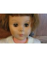 "30"" DOLL Vintage 50's 60's Reddish Hair Sleep Eyes Upturned Nose  - $28.70"
