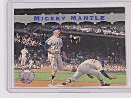 1996 Topps Stadium Club # - Number MM11 Mickey Mantle Baseball Card - $4.00