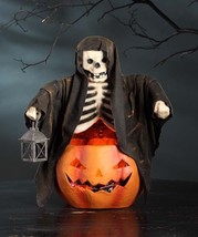 Ghoul Skeleton Scary Halloween Candy Bowl,14'' x17''H. - $128.70