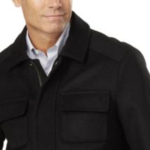 Pendleton Men's Black Cascade Wool Blend Zip up Jacket Coat Large New w Tags image 2