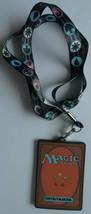 Magic The Gathering MTG Card Game ID Badge Holder Keychain Lanyard - $13.75